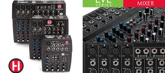 Mixer Audio Harbinger Seri LvL