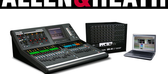 Mixer Digital Allen & Heath Seri T