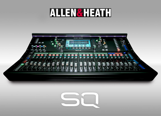 Mixer Digital Allen Heath SQ