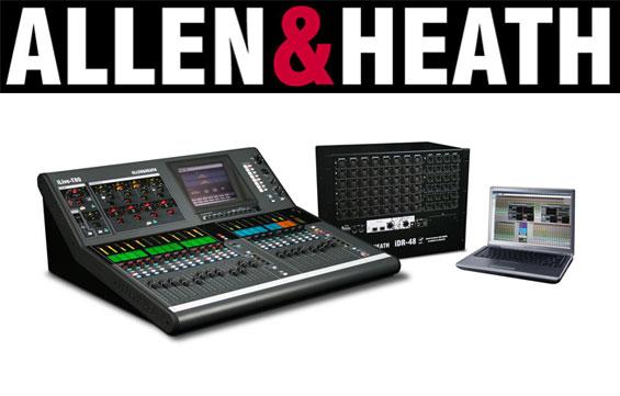 Mixer Digital Allen & Heath Seri T