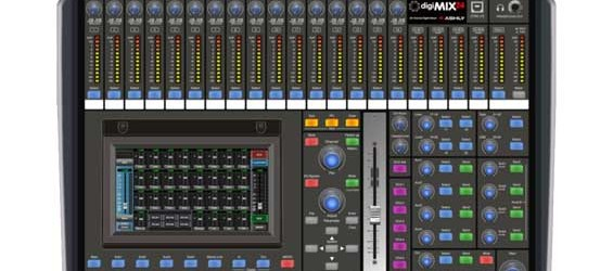 Mixer Digital Ashly digiMIX24