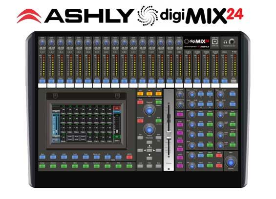 Mixer Digital Ashly digiMIX24