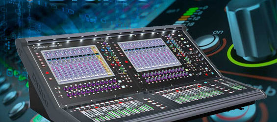Mixer Digital DiGiCo SD12