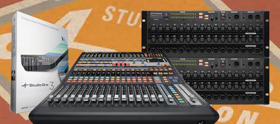 Mixer Digital Presonus StudioLive