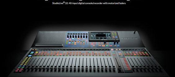 Mixer Digital PreSonus StudioLive Seri III