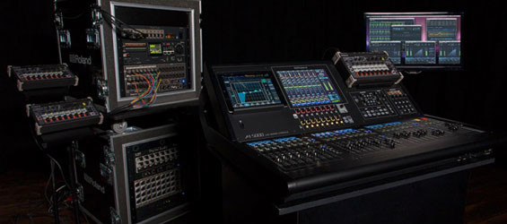 Mixer Digital Roland M5000