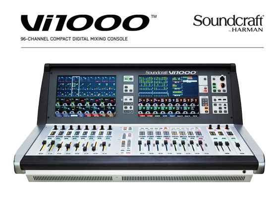 Mixer Digital Soundcraft Vi1000