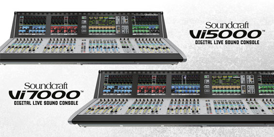 Mixer Digital Soundcraft Vi5000 dan Vi7000