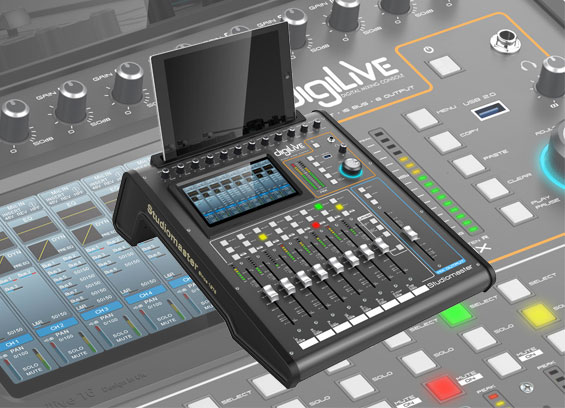 Mixer Digital Studiomaster digiLiVE