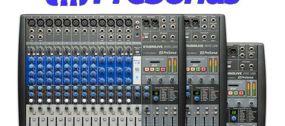 Mixer Audio PreSonus StudioLive AR USB