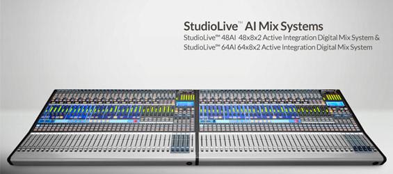 Mixer Digital PreSonus StudioLive 64AI dan 48AI