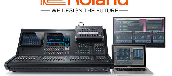 Mixer Audio Digital Roland M5000