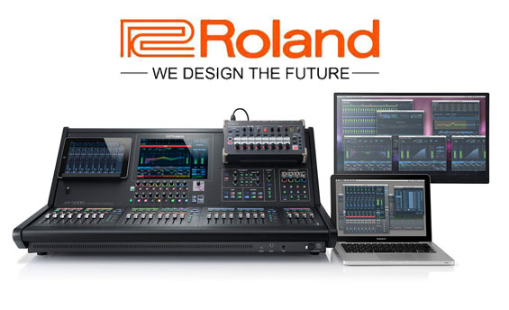 Mixer Audio Digital Roland M5000
