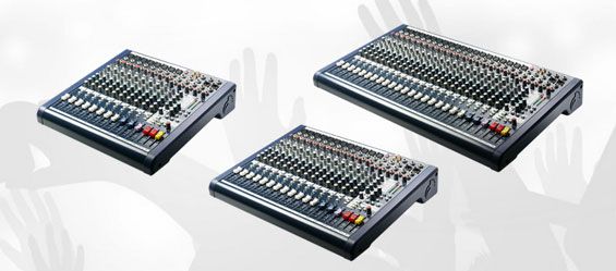 Mixer Audio Soundcraft MFXi dan MPMi