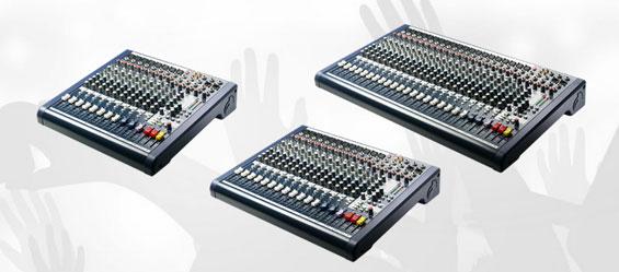 Mixer Audio Soundcraft MFXi dan MPMi
