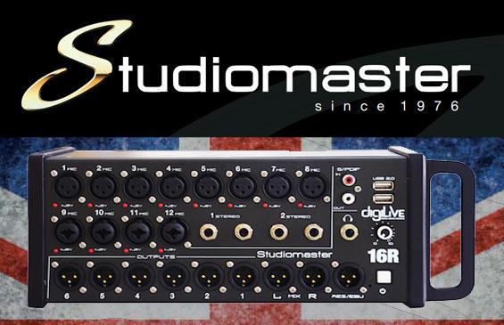 Mixer Digital Studiomaster digiLiVE16R