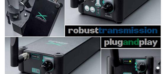 Sistem Interkoneksi Audio Digital Nirkabel Neutrik XIRIUM PRO