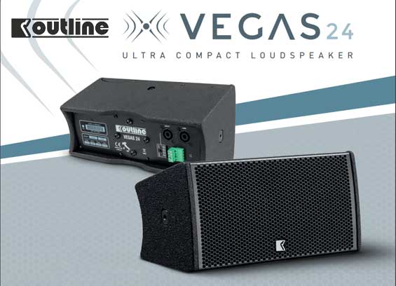 Speaker Sound System Outline Vegas