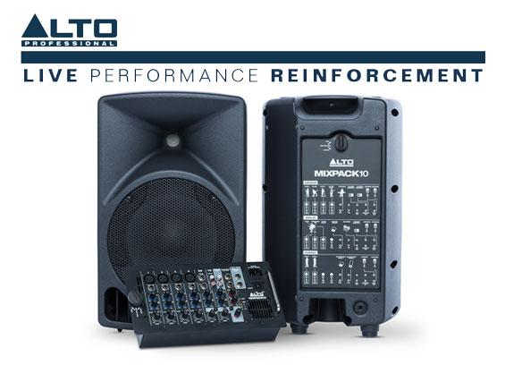 Paket Sound System Portabel Alto MixPack 10