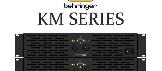 Audio Power Amplifier Behringer Seri KM