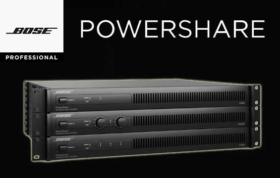 Power Amplifier Digital Bose PowerShare
