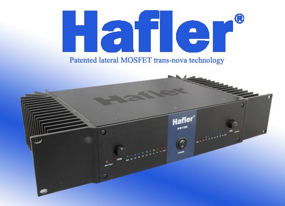 Audio Power Amplifier Hafler P3100