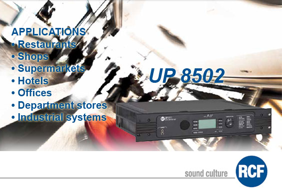 Power Sound System RCF Italy