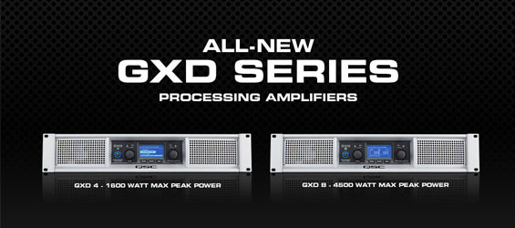 Power Amplifier Digital QSC Seri GXD