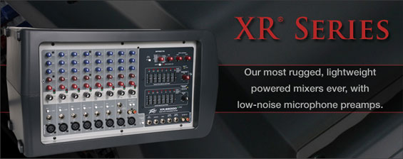 Power Mixer Peavey Seri XR