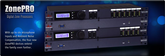Prosesor Audio DBX ZonePro