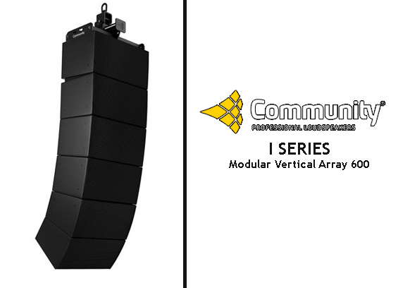 Sound System Line Array Community IV6