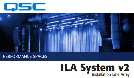 Sound System Line Array QSC ILAv2