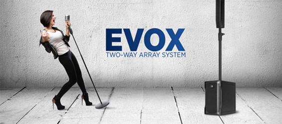 Paket Sound System Portabel RCF EVOX