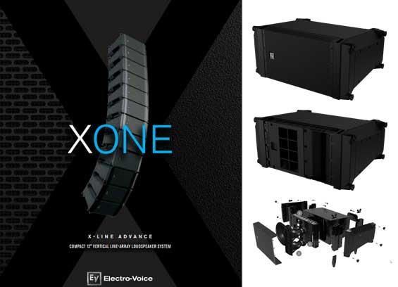 Speaker Sound System Electro Voice X-Line Advance