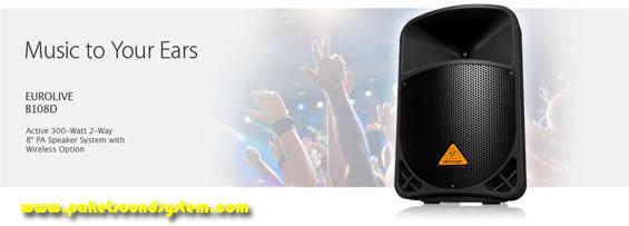 Speaker Aktif Behringer B110D Dan B108D