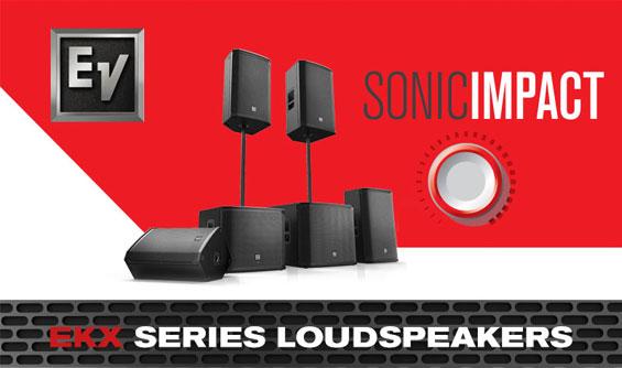 Speaker Aktif Elektro Voice Seri EKX