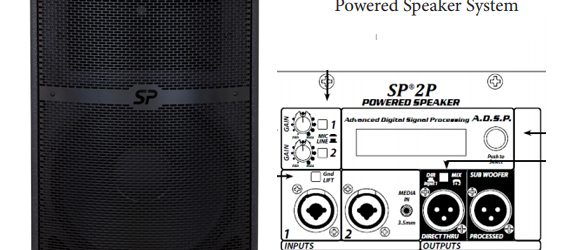 Speaker Aktif Peavey SP 2P