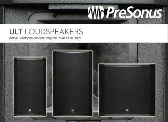 Speaker Aktif Presonus Seri ULT