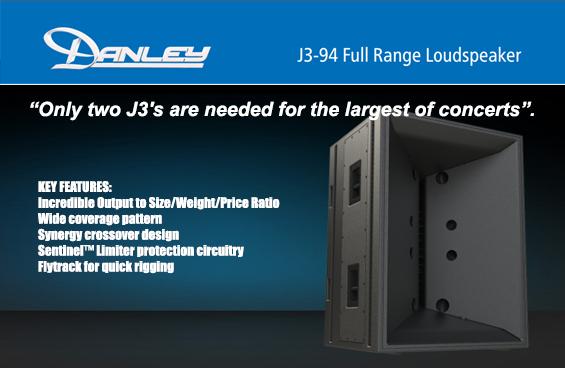 Speaker Sound System Danley Jericho Horn J3-94