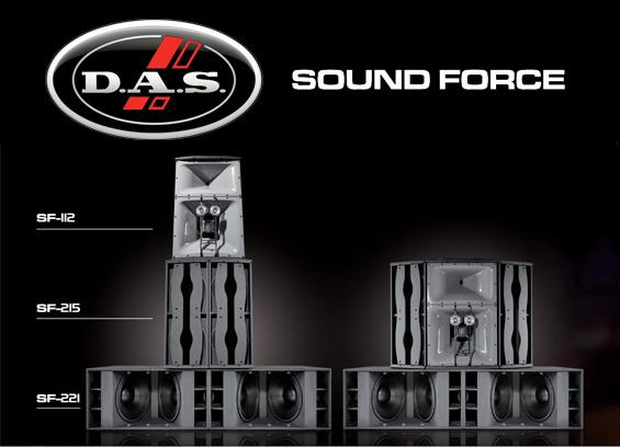 Sistem Tata Suara DAS Audio Seri Sound Force
