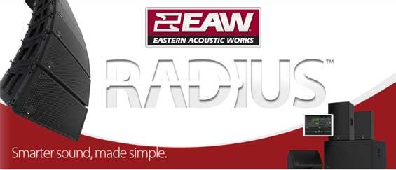 Sound System Line Array EAW RADIUS