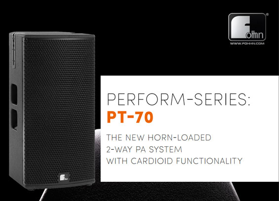 Speaker Sound System Fohhn Audio PT-70