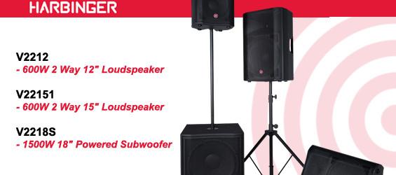 Speaker Sound System Harbinger Seri VaRi