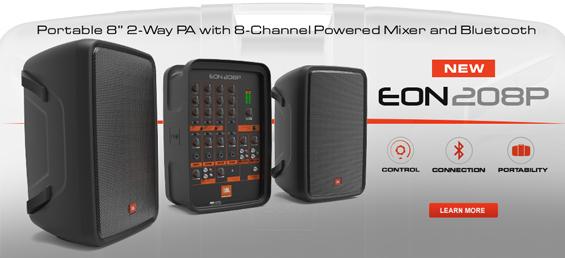 Paket Sound System Portabel JBL EON208P