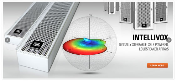 Speaker Sound System JBL Profesional Seri Intellivox 380