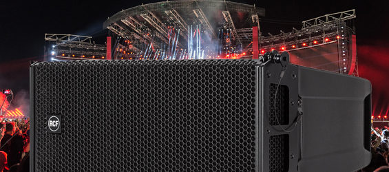 Sound System Line Array Aktif RCF HDL 6-A