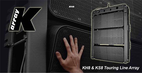 Sound System Lapangan Line Array Aktif K-Array