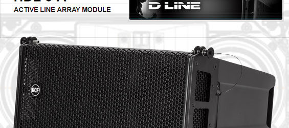 Sound System Line Array Aktif RCF HDL6-A