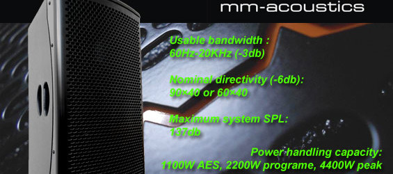 Speaker Sound System MM Akustik G12