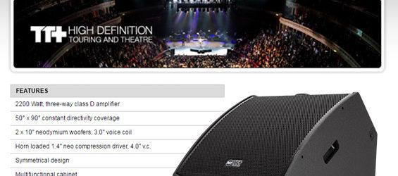 Speaker Monitor Aktif RCF TT45-CXA